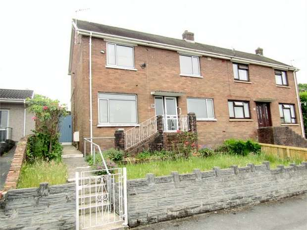 3 Bedrooms Semi Detached House for sale in Coedyclun, Trimsaran, Kidwelly, Carmarthenshire
