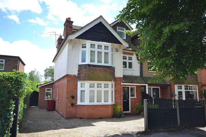 4 Bedrooms Semi Detached House for sale in Caversham Heights