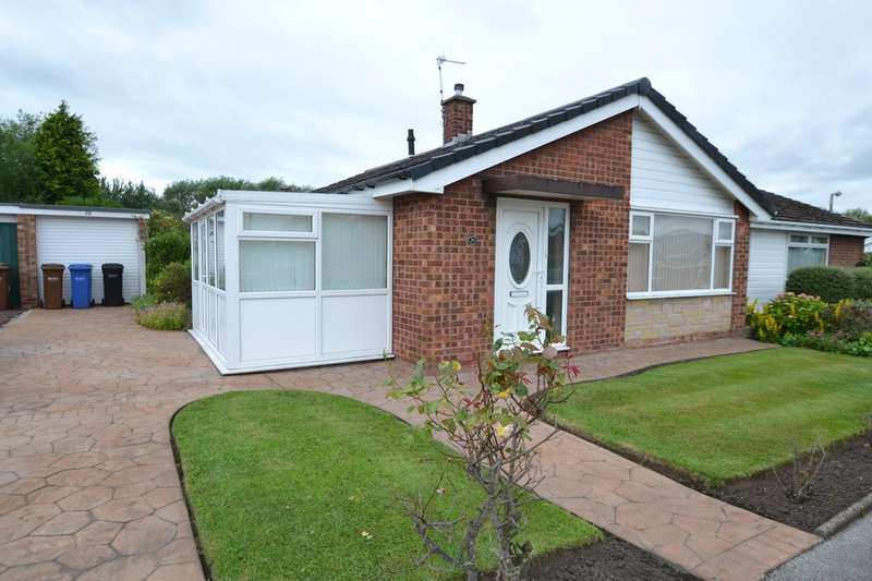 2 Bedrooms Semi Detached Bungalow for sale in Keswick Avenue, Gatley