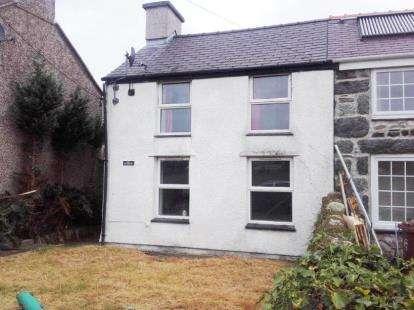 3 Bedrooms Semi Detached House for sale in Bethel, Caernarfon, Gwynedd, LL55