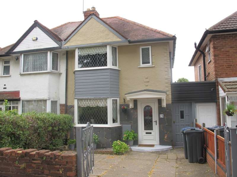 3 Bedrooms Semi Detached House for sale in Benedon Road, Birmingham