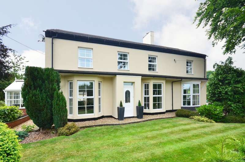5 Bedrooms Detached House for sale in Uttoxeter Road, Draycott, ST11 9NR