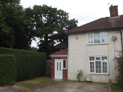 2 Bedrooms Semi Detached House for sale in Dryfield Road, Edgware, Middlesex