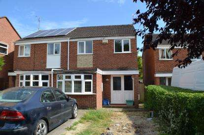 3 Bedrooms Semi Detached House for sale in Chiltern Road, Quedgeley, Gloucester, Gloucestershire