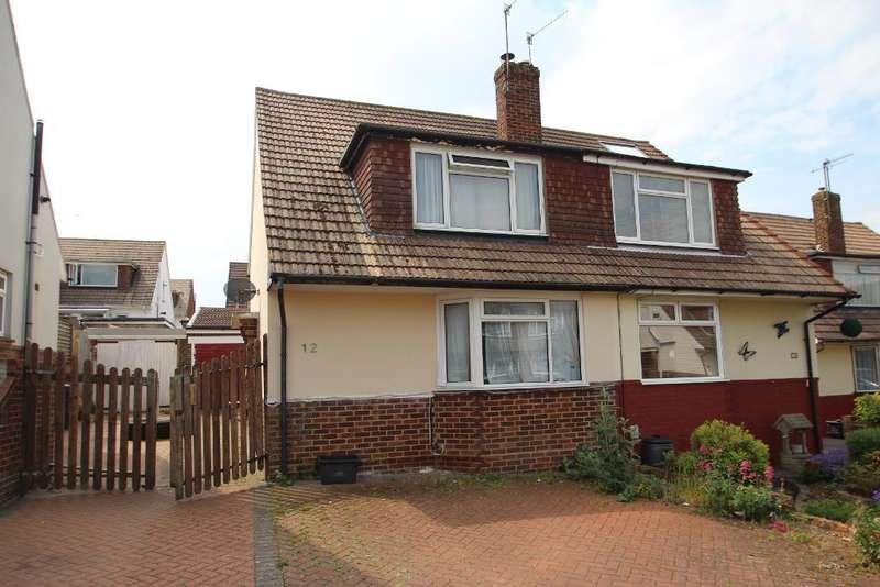 3 Bedrooms Semi Detached House for sale in Graham Crescent, Mile Oak, Portslade, East Sussex, BN41 2YB