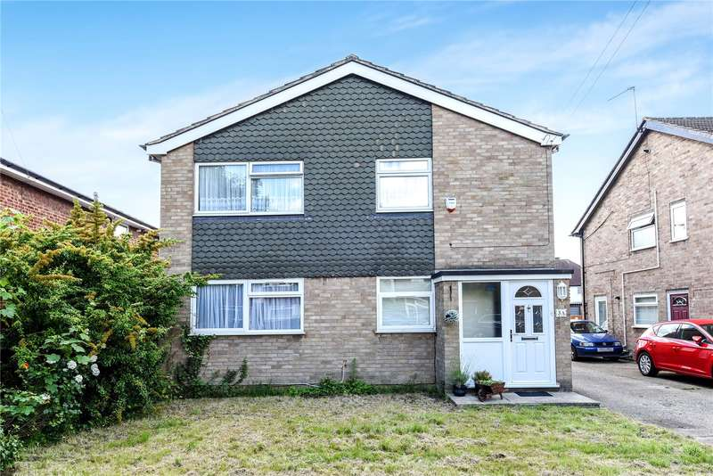 2 Bedrooms Maisonette Flat for sale in Cedar Avenue, Ruislip, Middlesex, HA4