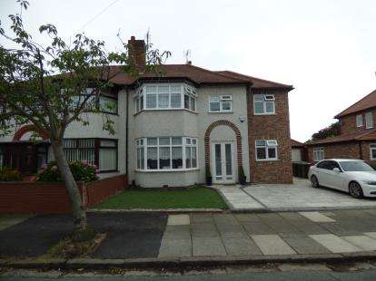 4 Bedrooms Semi Detached House for sale in Coronation Drive, Merseyside, Liverpool, Merseyside, L23