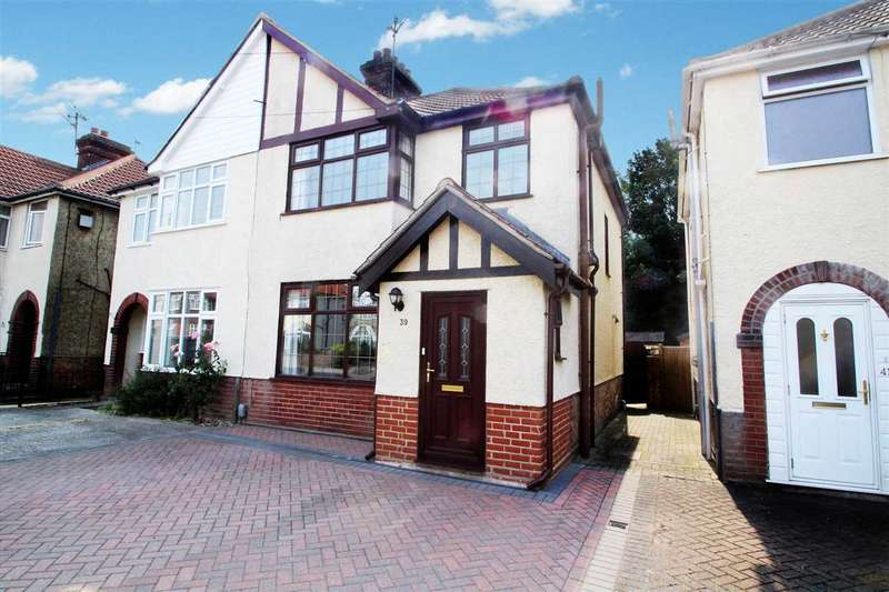 3 Bedrooms Semi Detached House for sale in Eustace Road, Ipswich