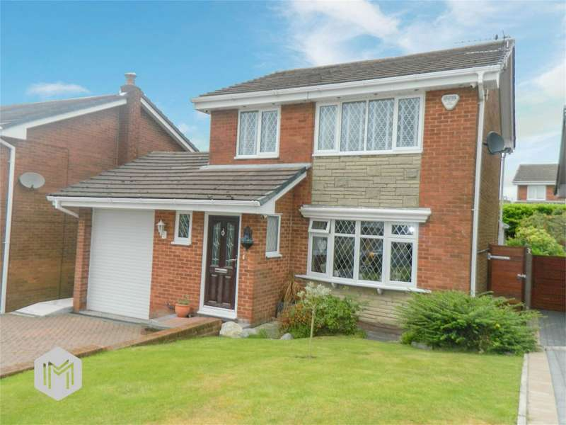 3 Bedrooms Detached House for sale in Croyde Close, Harwood, Bolton, Lancashire