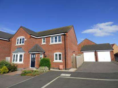 4 Bedrooms Detached House for sale in Carnelian Drive, Sutton-In-Ashfield, Nottinghamshire