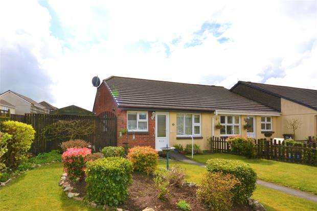 2 Bedrooms Semi Detached Bungalow for sale in Coombe Road, Callington, Cornwall