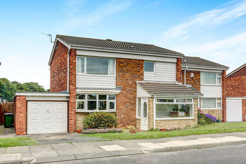 3 Bedrooms Semi Detached House for sale in Dunsdale Road, Holywell, Whitley Bay, NE25