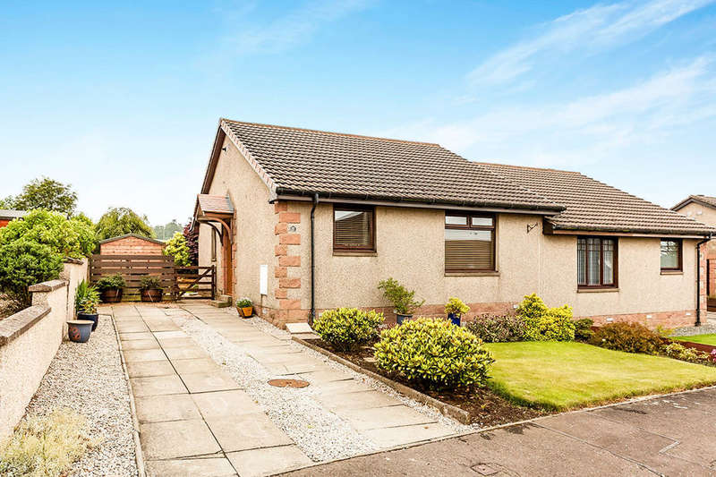 2 Bedrooms Semi Detached Bungalow for sale in St. Brioc Way, Ferryden, Montrose, DD10