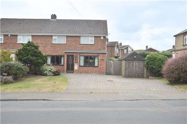 3 Bedrooms Semi Detached House for sale in Main Road, Knockholt, SEVENOAKS, Kent, TN14 7JF