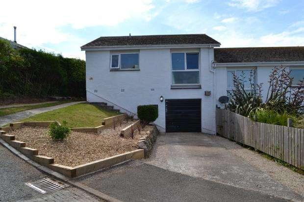 3 Bedrooms Semi Detached Bungalow for sale in Goonrea, Looe, Cornwall