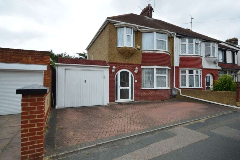 3 Bedrooms Semi Detached House for sale in Canadian Avenue, Gillingham, ME7