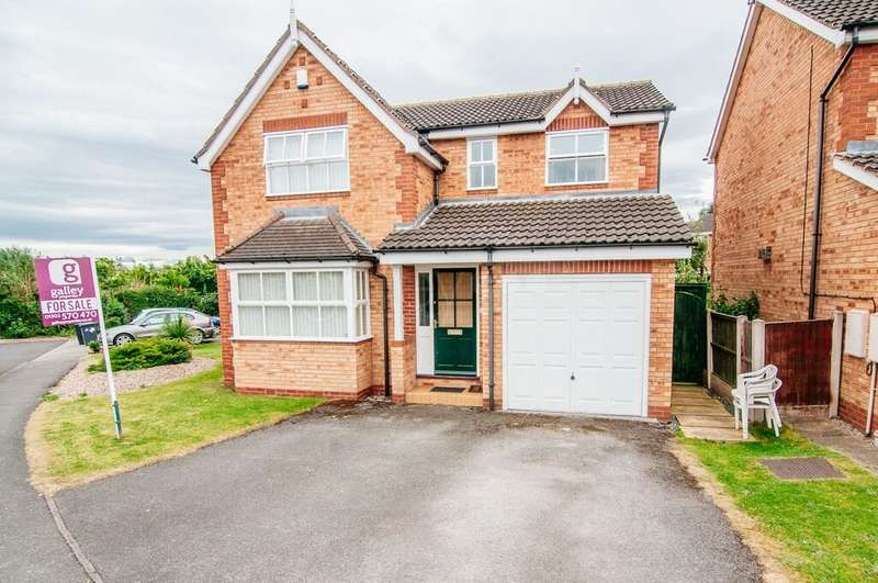 4 Bedrooms Detached House for sale in Burns Way, Balby