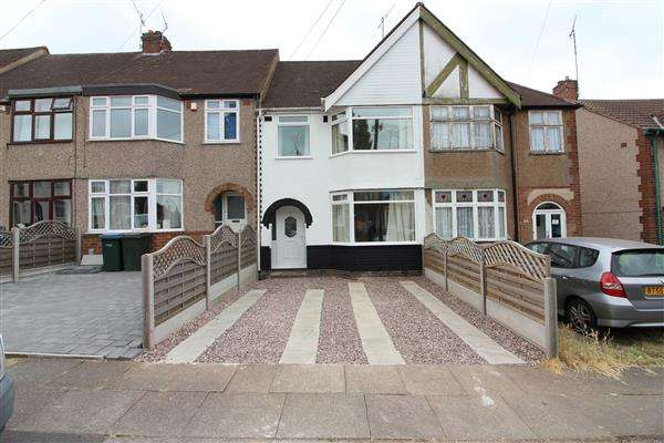 3 Bedrooms Terraced House for sale in Lincroft Crescent, Coundon, Coventry