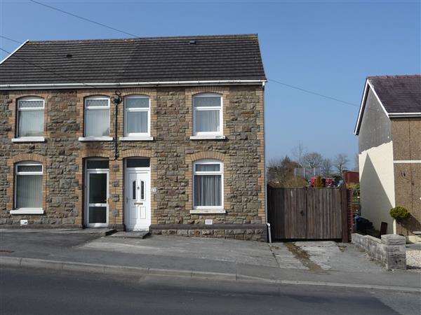 3 Bedrooms Semi Detached House for sale in Heol Bryngwili, CROSS HANDS, LLANELLI