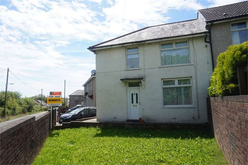 3 Bedrooms Semi Detached House for sale in Bryncoed Terrace, Penpedairheol, Hengoed, CF82