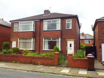 2 Bedrooms Semi Detached House for sale in Wolstenholme Avenue, Bury, Greater Manchester, BL9
