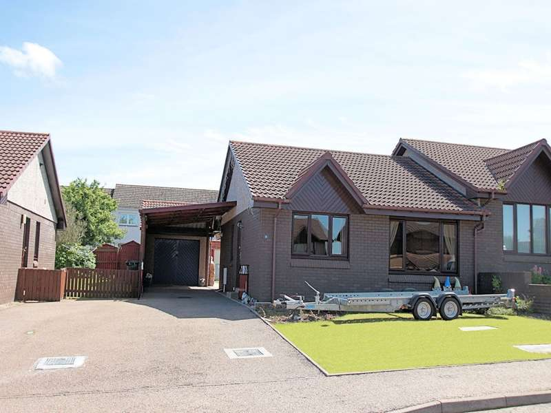 2 Bedrooms Semi Detached Bungalow for sale in 11 Russell Place, Elgin, IV30 4PJ