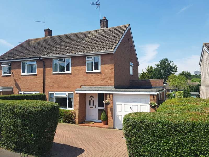 3 Bedrooms Semi Detached House for sale in Flexley Wood, Welwyn Garden City, AL7