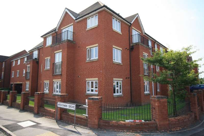 2 Bedrooms Apartment Flat for sale in Ardgowan Grove, Wolverhampton, West Midlands, WV4