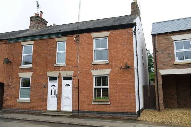3 Bedrooms End Of Terrace House for sale in Berridges Lane, Husbands Bosworth, Lutterworth, Leicestershire