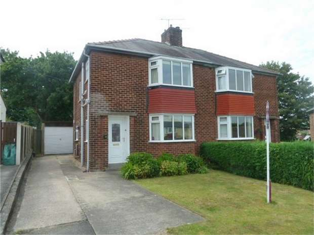 3 Bedrooms Semi Detached House for sale in Salisbury Crescent, Chesterfield, Derbyshire