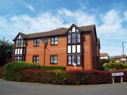 1 Bedroom Flat for sale in Swan Drive, Thornton-Cleveleys, Lancashire, United Kingdom, FY5