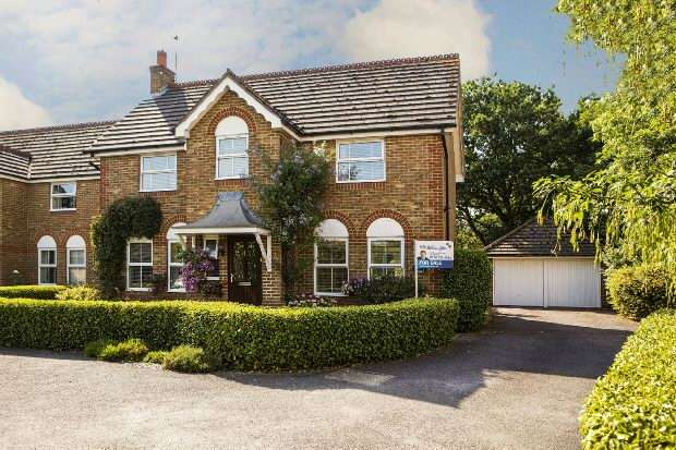 4 Bedrooms Detached House for sale in Firmstone Close, Lower Earley, Reading,