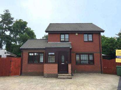 4 Bedrooms Detached House for sale in Queensby Road, Baillieston