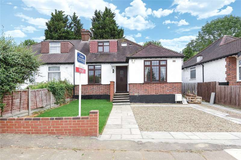 3 Bedrooms Semi Detached Bungalow for sale in Hillside Road, Northwood, Middlesex, HA6