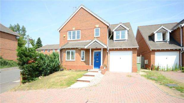 4 Bedrooms Detached House for sale in Little Horse Close, Earley, Reading