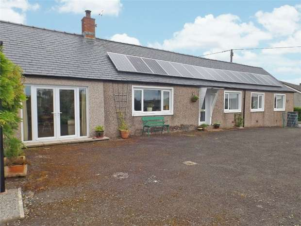4 Bedrooms Detached Bungalow for sale in Hightae, Lockerbie, Dumfries and Galloway