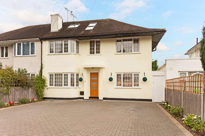 4 Bedrooms Semi Detached House for sale in Robin Hood Lane, Kingston Vale, London, SW15