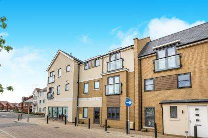 2 Bedrooms Flat for sale in Britten Place, Sullivan Court, Biggleswade, Bedfordshire