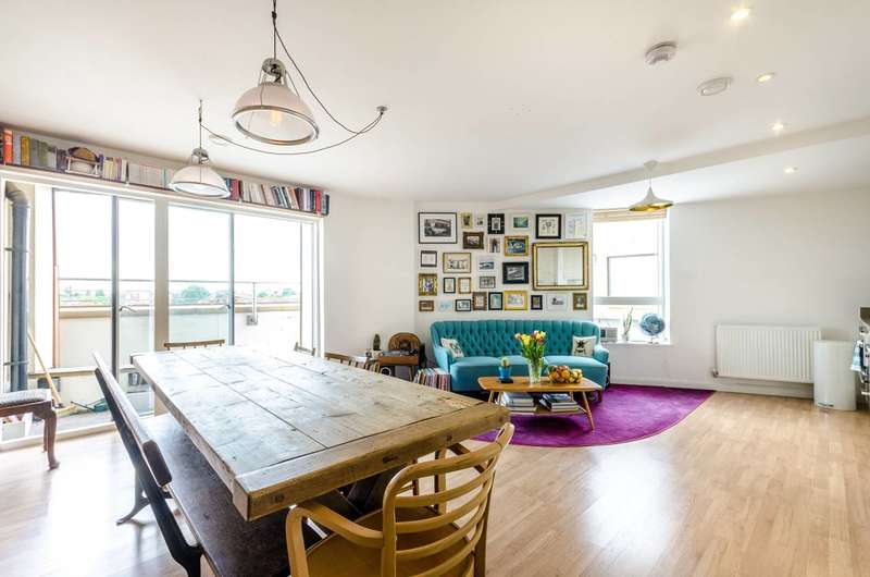 2 Bedrooms Flat for sale in City View, Kensal Rise, W10