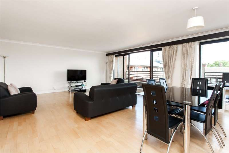 3 Bedrooms Flat for sale in Huntsmore House, 35 Pembroke Road, London, W8