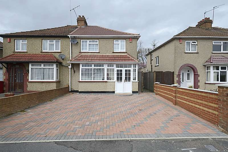 4 Bedrooms Semi Detached House for sale in Seymour Road, Slough, Berkshire, SL1