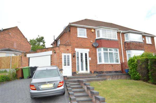 3 Bedrooms Semi Detached House for sale in Pinley Grove, Park Farm Great Barr, Great Barr, Birmingham