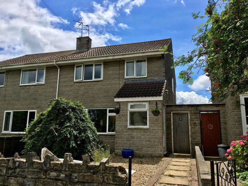 3 Bedrooms Semi Detached House for sale in The Glebe, Stowey Road, Fivehead, Somerset