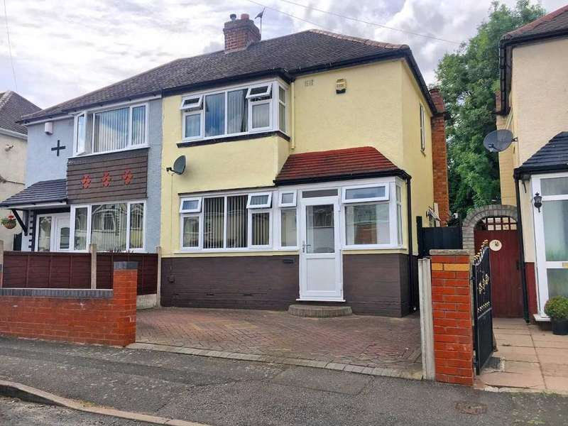 2 Bedrooms Semi Detached House for sale in DARBY ROAD, WEDNESBURY, WEST MIDLANDS, WS10 0PN