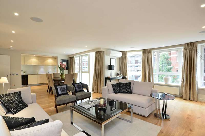 2 Bedrooms Flat for sale in Drayton Gardens, Chelsea, SW10