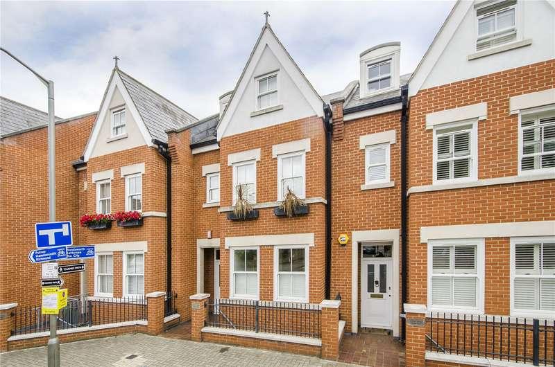 4 Bedrooms Terraced House for sale in Wharf Terrace, Deodar Road, London, SW15