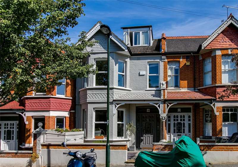 5 Bedrooms Terraced House for sale in Palmerston Road, East Sheen, SW14