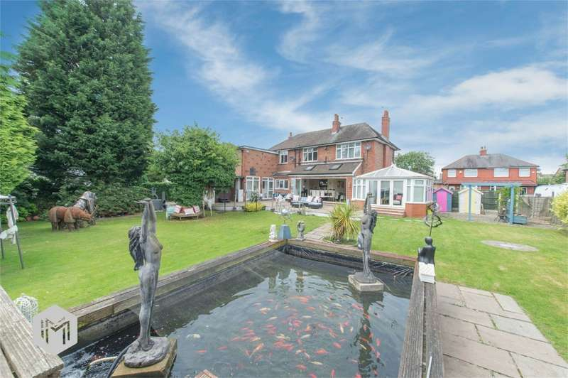 4 Bedrooms Detached House for sale in Springfield Lane, Irlam, Manchester