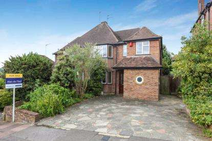 4 Bedrooms Semi Detached House for sale in Keswick Road, West Wickham