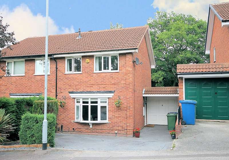 3 Bedrooms Semi Detached House for sale in Redwing, Wilnecote, Tamworth, B77 5NR